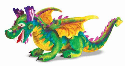 Melissa & Doug Dragon - Plush - Click to enlarge