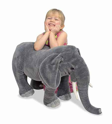 Melissa & Doug Elephant - Plush - Click to enlarge