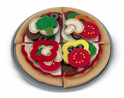Melissa & Doug Felt Food - Pizza Set - Click to enlarge