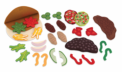 Melissa & Doug Felt Food - Taco Set - Click to enlarge