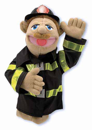 Melissa & Doug Firefighter Puppet - Click to enlarge