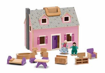 Melissa & Doug Fold & Go Dollhouse - Click to enlarge