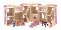 Melissa & Doug Fold & Go Princess Castle