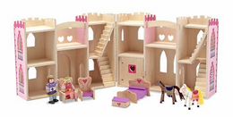 Melissa & Doug Fold & Go Princess Castle - Click to enlarge