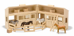Melissa & Doug Fold & Go Stable - Click to enlarge