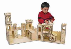 Melissa & Doug Folding Medieval Castle - Click to enlarge