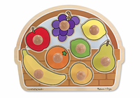 Melissa & Doug Fruit Basket - Large Jumbo Knob