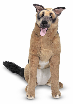 Melissa & Doug German Shepherd - Plush - Click to enlarge