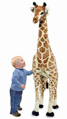 Melissa & Doug Giraffe - Plush - Click to enlarge