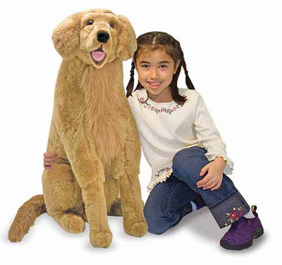 Melissa & Doug Golden Retriever - Plush