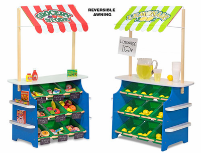 Melissa & Doug Grocery Store / Lemonade Stand - Click to enlarge