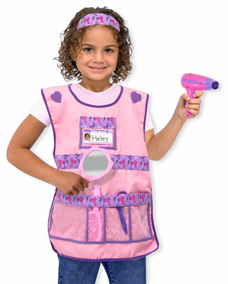 Melissa & Doug Hair Stylist Costume Role Play Set - Click to enlarge