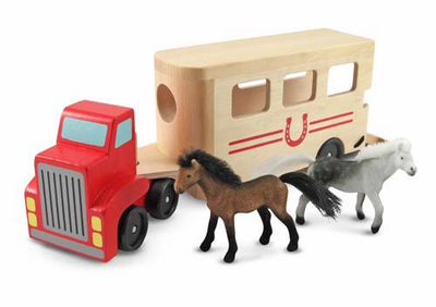 Melissa & Doug Horse Carrier - Click to enlarge