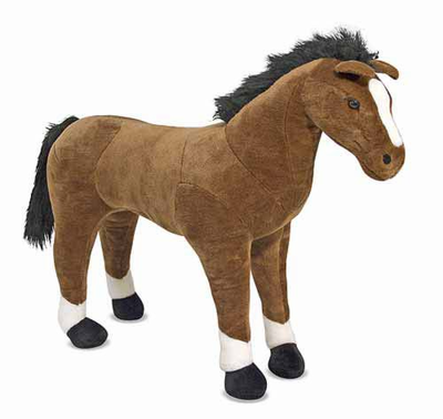 Melissa & Doug Horse - Plush - Click to enlarge