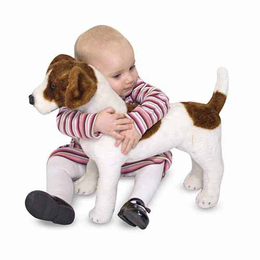 Melissa & Doug Jack Russell Terrier - Plush - Click to enlarge