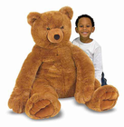 Melissa & Doug Jumbo Brown Teddy Bear - Plush