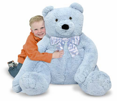 Melissa & Doug Jumbo Teddy Bear - Plush - Click to enlarge