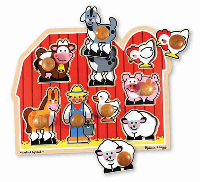 Melissa & Doug Large Farm Jumbo Knob - Click to enlarge