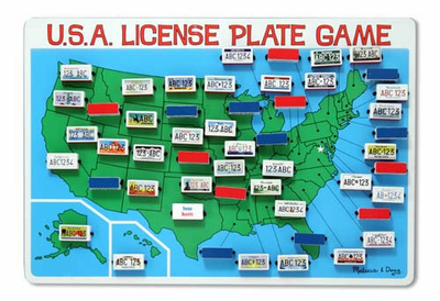 Melissa & Doug License Plate Game