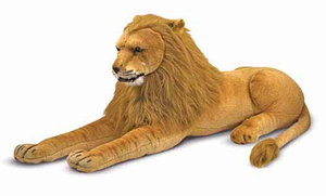 Melissa & Doug Lion - Plush - Click to enlarge