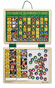Melissa & Doug Magnetic Responsibility Chart - Click to enlarge