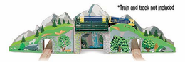 Melissa & Doug Mountain Bridge and Tunnel - Click to enlarge