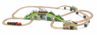 Melissa & Doug Mountain Railway Train Set