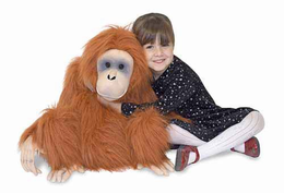 Melissa & Doug Orangutan - Plush - Click to enlarge