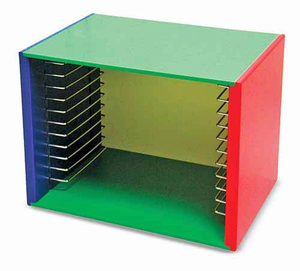 Melissa & Doug Painted Wood Puzzle Case