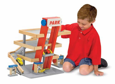 Melissa & Doug Parking Garage - Click to enlarge