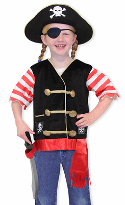 Melissa & Doug Pirate Role Play Costume Set - Click to enlarge