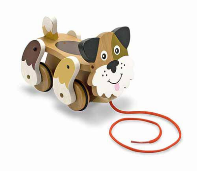 Melissa & Doug Playful Puppy Pull Toy - Click to enlarge