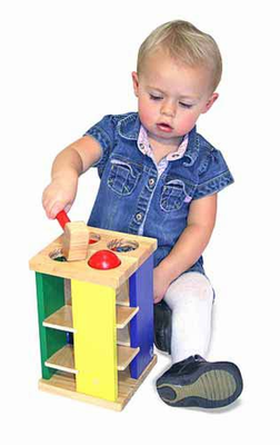 Melissa & Doug Pound and Roll Tower - Click to enlarge