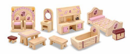 Melissa & Doug Princess Castle Furniture Set