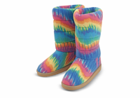 Melissa & Doug Rainbow Boot Slippers
