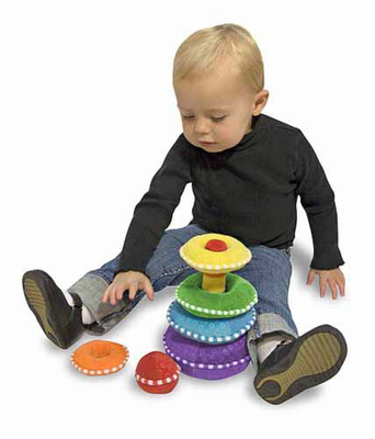Melissa & Doug Rainbow Stacker - Plush - Click to enlarge