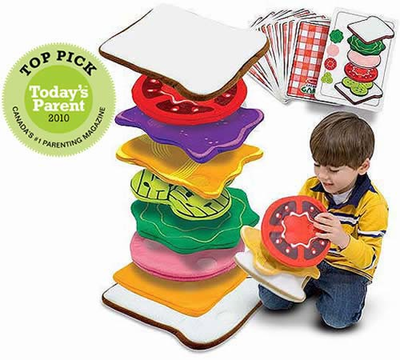 Melissa & Doug Sandwich Stacking Games - Click to enlarge