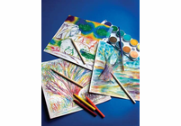 Melissa & Doug Scratch-Art Collage Group Pack