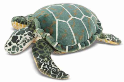 Melissa & Doug Sea Turtle - Plush - Click to enlarge
