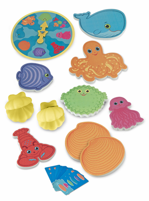 Melissa & Doug Seafood Sandwich Stacking Game - Click to enlarge