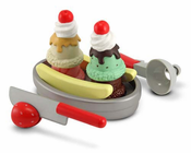 Melissa & Doug Slice and Scoop Sundae Set