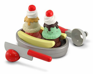 Melissa & Doug Slice and Scoop Sundae Set - Click to enlarge