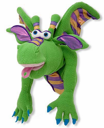 Melissa & Doug Smoulder the Dragon Puppet