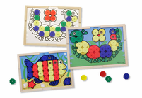 Melissa & Doug Sort & Snap Color Match
