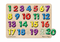 Melissa & Doug Spanish Numbers Sound Puzzle