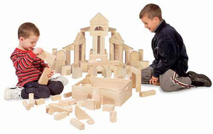 Melissa & Doug Standard Unit Blocks - Click to enlarge