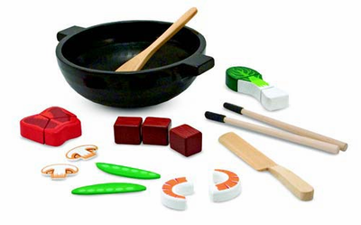 Melissa & Doug Stir Fry Slicing Play Set - Click to enlarge