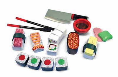 Melissa & Doug Sushi Slicing Play Set - Click to enlarge