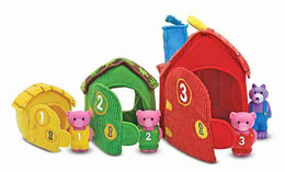 Melissa & Doug Three Little Pigs Play Set - Click to enlarge
