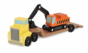 Melissa & Doug Trailer & Excavator - Click to enlarge